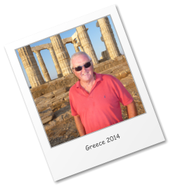 Visiting the Temple of Aphaia on the island of Aegina during the 2014 summer cruising season